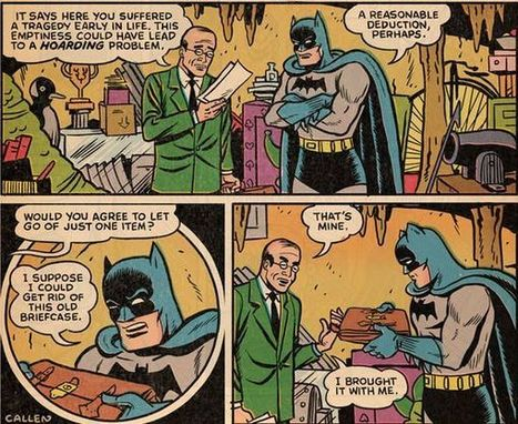 Batman is a Hoarder! | Comic Books, Video Games, Cartoons | Scoop.it