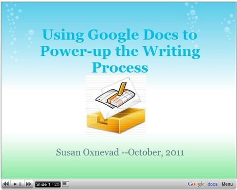 Using Google Docs to Power-up the Writing Process | 6-Traits Resources | Scoop.it