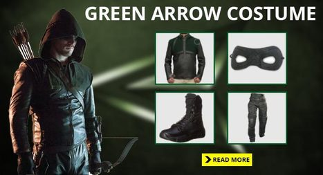 Best Green Arrow Costume Guide For The Fans | celebrities Leather Jackets | Scoop.it