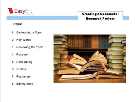 The Research/Inquiry Process - Research Tools - LibGuides at Springfield Township High School | CGS Literacy, Learning and ICT | Scoop.it