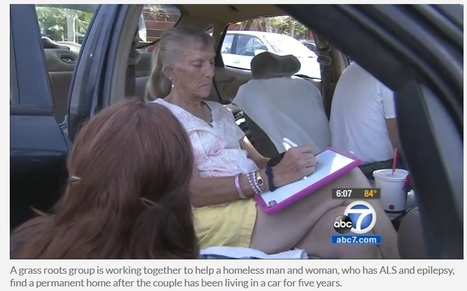 Homeless woman with ALS, caregiver receiving help from grass roots group | #ALS AWARENESS #LouGehrigsDisease #PARKINSONS | Scoop.it