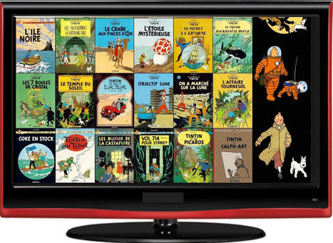 Tintin:  BD et Films en ligne - Youtube | Languages | Scoop.it