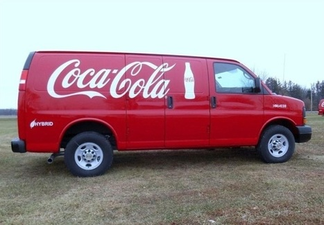 Coca-Cola Adds 100 Hybrid Delivery Vans to Fleet | Cars and Road Safety | Scoop.it