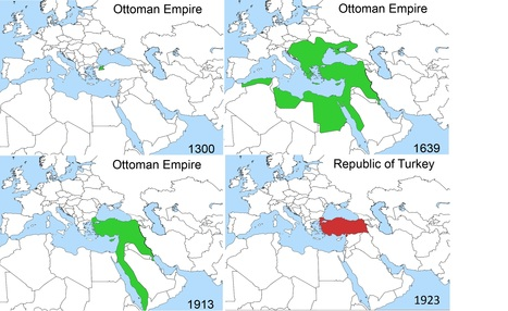 Rise and Fall of the Ottoman Empire | AP HUMAN GEOGRAPHY DIGITAL  STUDY: MIKE BUSARELLO | Scoop.it