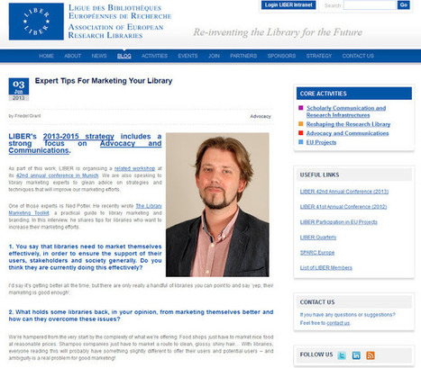 The Library Marketing Toolkit | School Learning Centre Ideas | Scoop.it