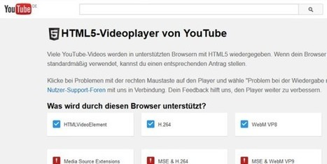 Flash adé: Youtube erklärt HTML5-Player zum Standard | Social Media and its influence | Scoop.it