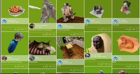Easily Turn Pictures Into 3D Models with This Free iPad App ~ Educational Technology and Mobile Learning | Work@Prowise | Scoop.it