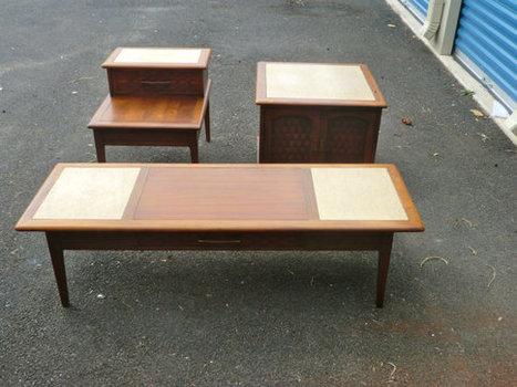 Mid Century Livingroom Table Set   Mid Century   Scoop.it
