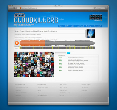 Get Soundcloud feedback with Cloudkillers   #Technology   Scoop.it