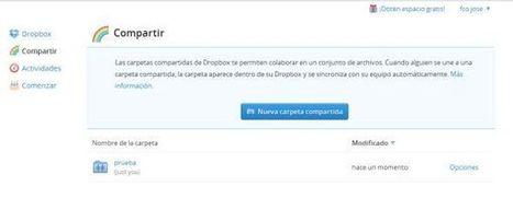 Dropbox agora permite compartilhar nossas pastas com contatos do Facebook   Linguagem Virtual   Scoop.it