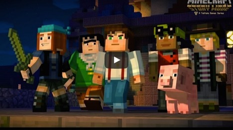 Minecraft vs Minecraft Story Mode | Digital Delights - Avatars, Virtual Worlds, Gamification | Scoop.it