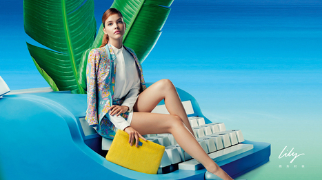 Lilly S/S14 - Barbara Palvin Fashion Shoot - A-LISTED | FASHION LILY SS14 - BARBARA PALVIN CAMPAIGN BY FRED & FARID SHANGHAI | Scoop.it