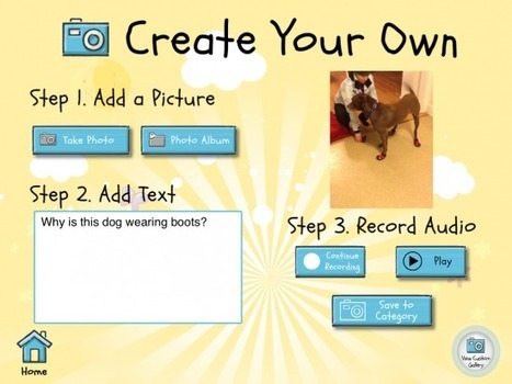 Write About This - Find or Create Writing Prompts - iPad Apps for School | Learning & iPads | Scoop.it