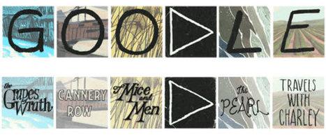Google Doodle honors author John Steinbeck | American Literature | Scoop.it
