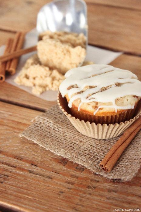 Cinnamon Roll Cupcakes   recipes   Scoop.it