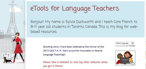 eTools for Language Teachers   Technology in the K-12 FSL Classroom - research, resources, and realizations   Scoop.it