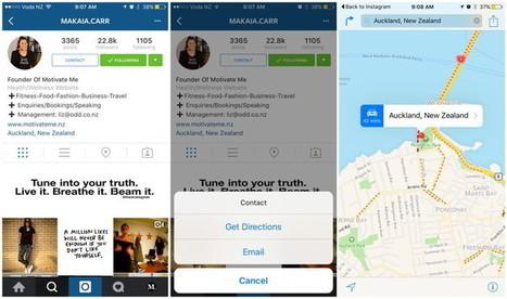 Instagram comienza a ofrecer páginas para negocios y botón de contacto   Marketing en la Ola Digital   Scoop.it