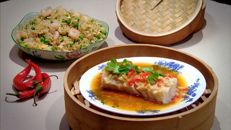 Ginger, chilli and soy-steamed cod | Chinese Food In Minutes | Slimming World recipes | Scoop.it