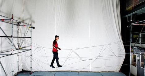 Watch flying machines weave a rope bridge you can walk on | Robohub | DigitAG& journal | Scoop.it