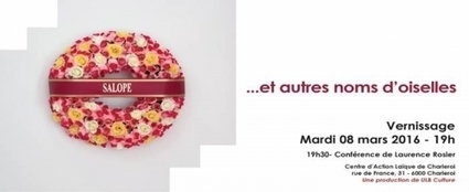 """CHARLEROI- Expo """" Salope et autres noms d'oiselles"""" au Centre d'Action Laïque- Vernissage le 8 mars - Charleroi Sudinfo   Laïcité, libre-examen, engagement citoyen   Scoop.it"""
