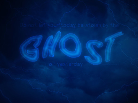 Create a Ghostly Text Effect in Photoshop | The Official Photoshop Roadmap Journal | Scoop.it