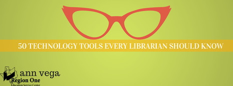 Librarians on the Fly: 50 Tech Tools every Teacher-Librarian Should Know | Educational technology | Scoop.it