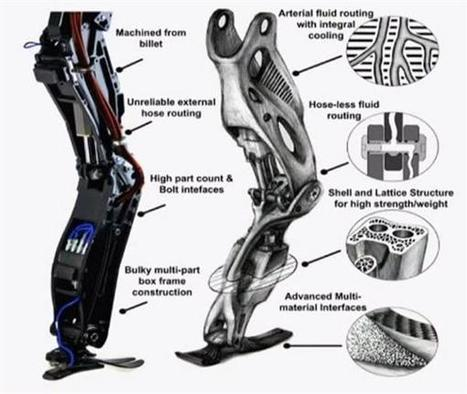 Google's Atlas robot goes on successful walk in the woods | Heron | Scoop.it