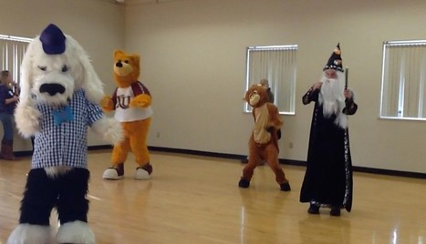 Watch a Post reporter dance around at mascot boot camp | Mascots | Scoop.it