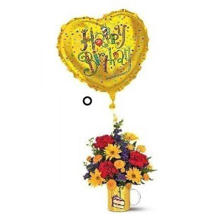 Birthday Surprise Bouquet by Olivia Samson | buffalo florist | Scoop.it