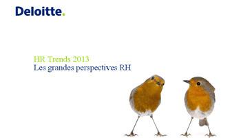 Etude Deloitte: les cinq tendances RH à retenir   Communication RH   Scoop.it