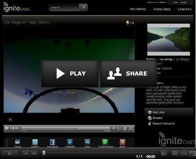 IgniteCast – Create and Embed Multimedia Presentations by Mark Brumley | Digital Presentations in Education | Scoop.it