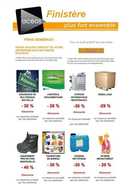 AUDIT GRATUIT ACEOS Finistère -  combien pourrez-vous économiser sur vos postes de charges ?   ACEOS Finistère, Economisez et développez vos ventes !   Scoop.it
