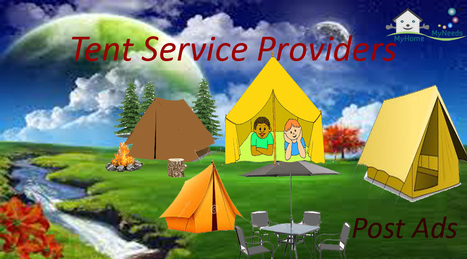 Tent manufacturers in Chennai - Myhome-myneeds.com | Home Needs in Chennai | Scoop.it