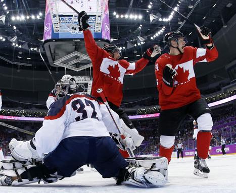 Canada vs. US: Sochi Olympics men's hockey semi-final goes to Team Canada ... - National Post   Team canada   Scoop.it