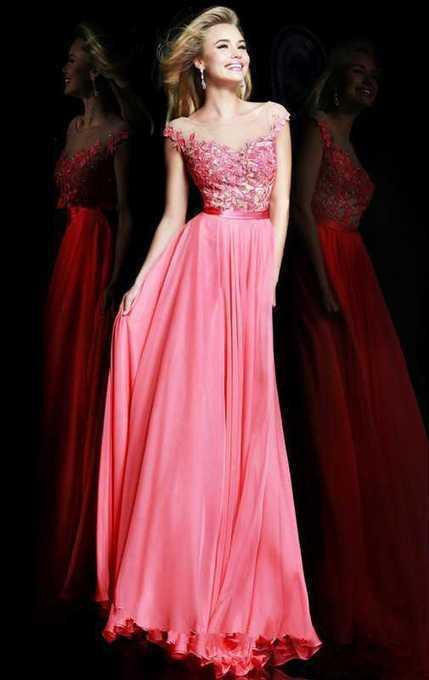 2014 Coral Long Embellished Prom Dresses Safe Shipping 2014 Coral Long Embellished Prom Dresses Safe Shipping | nice website | Scoop.it