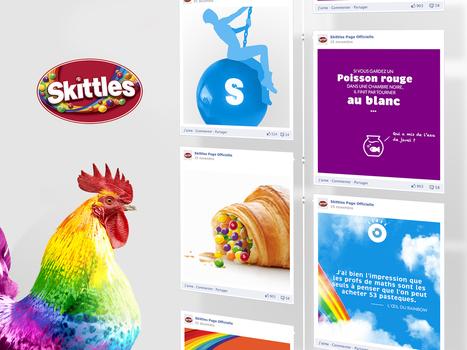 Skittles et son « Renne Beau » débarquent en France ! | Marques et stratégie digitale | Scoop.it