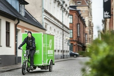A Bicycle-Powered Moving Company's Sales Pitch: We're Just Faster | Social Innovation Trends | Scoop.it