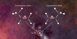 *Une molécule asymétrique trouvée dans la galaxie* | L'Université Paris-Sud dans la presse | Scoop.it