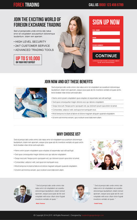 best-forex-trading-lead-capture-lp-001 | Forex Trading landing page design preview. | responsive landing pages | Scoop.it