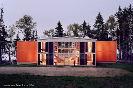 Recycled Shipping Container Houses | Square Footage | Container houses | Scoop.it