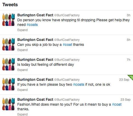 @BurlCoatFactory is the Best Parody Twitter Account | Entertainment | Scoop.it