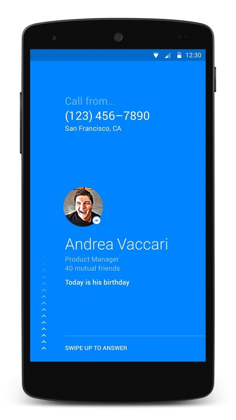 Facebook Launches Hello: An Android Based Calling and Called ID App | Social Media Marketing Company India | Scoop.it