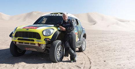2013 Mini Countryman All4 Rally Car Dakar Winner Driven By Jay Leno | My Dream Garage | Scoop.it