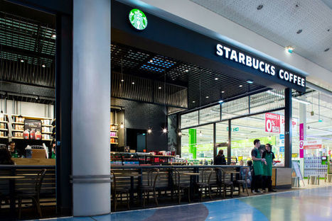 Découvrez le premier Starbucks Café chez Géant Casino | finger food | Scoop.it