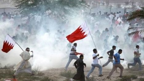 #Saudi protesters call on Riyadh to withdraw from #Bahrain | Human Rights and the Will to be free | Scoop.it