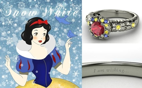Which Disney Engagement Ring Are You? | Weddings | Scoop.it