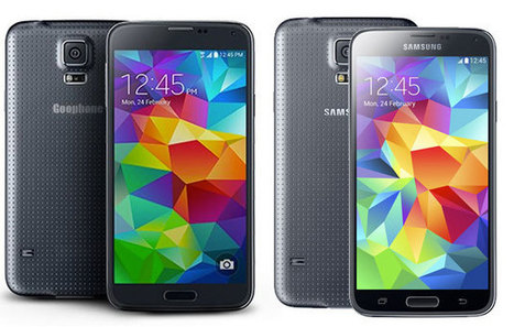 Goophone took just two days to rip off the Galaxy S5 | Nerd Vittles Daily Dump | Scoop.it