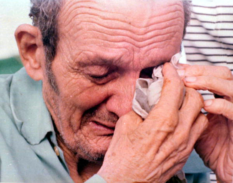 Florida Memory - Cuban refugee breaks down upon his arrival at Key West, Florida from Mariel, Cuba during the Mariel Boatlift. | Finding Manana: Cuba | Scoop.it