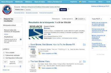 Blog de la Biblioteca PUCP » Nueva interfaz de la Biblioteca Virtual de la PUCP | University | Scoop.it