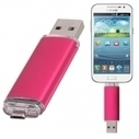 8GB Fashionable OTG USB Flash Drive for Smart Phones/Tablet PCs Rose Red | Power in your hand | Scoop.it